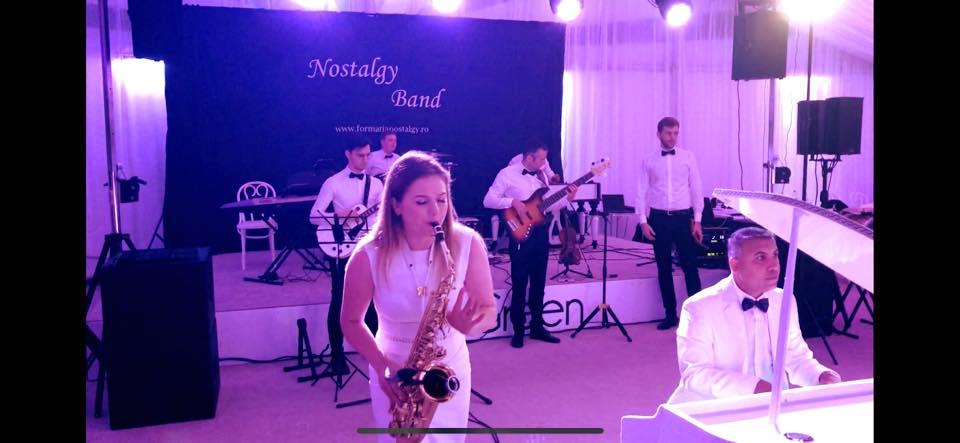 Formatie band sax