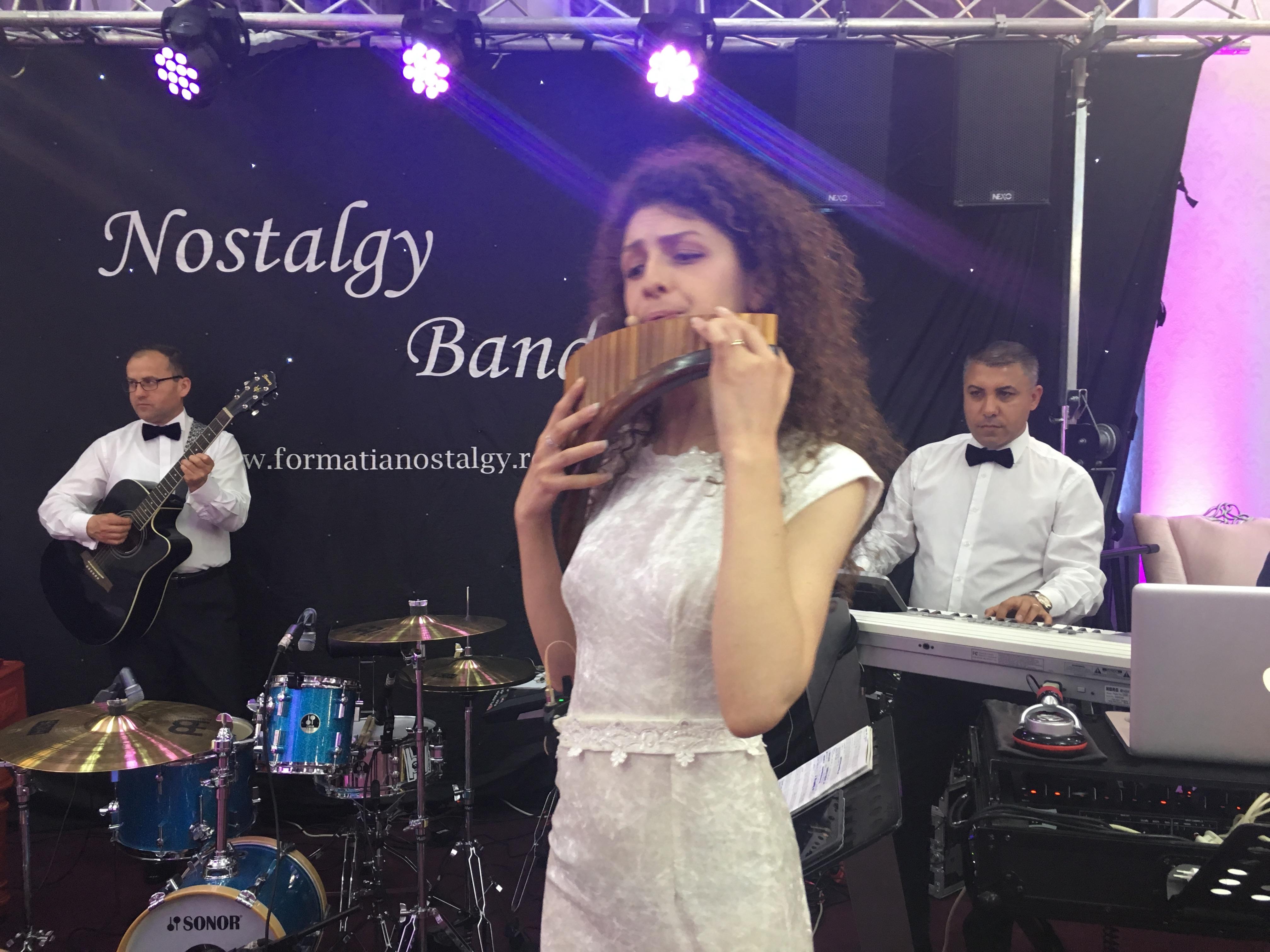 formatie nunta Nostalgy Taraf&Band My friend the wind & Autumn leaves 2016