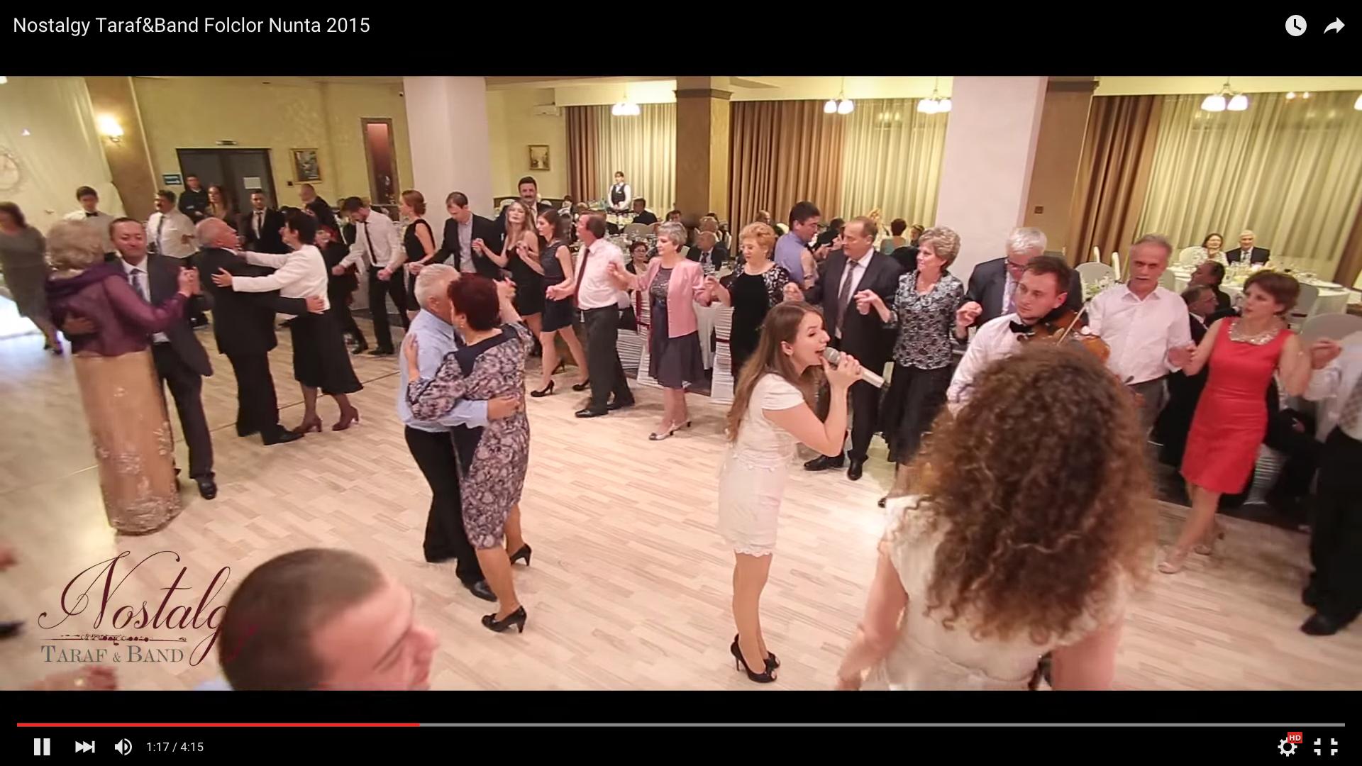 formatie nunta Nostalgy Taraf&Band Folclor Nunta 2015